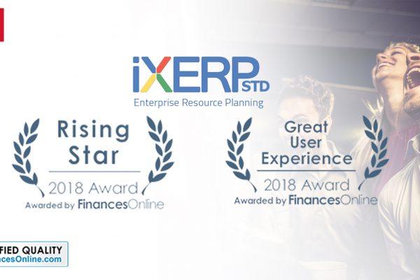 iXERP Standard Award 2018